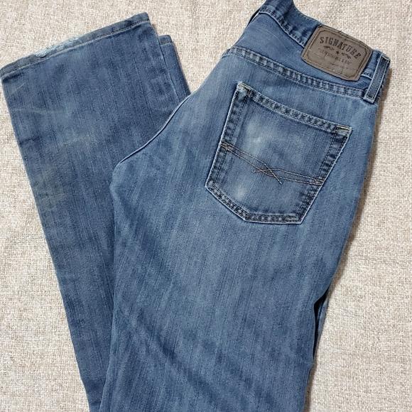 Levi Signature Men 30x32 Slim straight  jeans